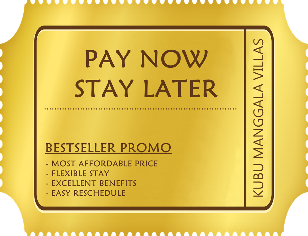 PAY NOW STAY LATER